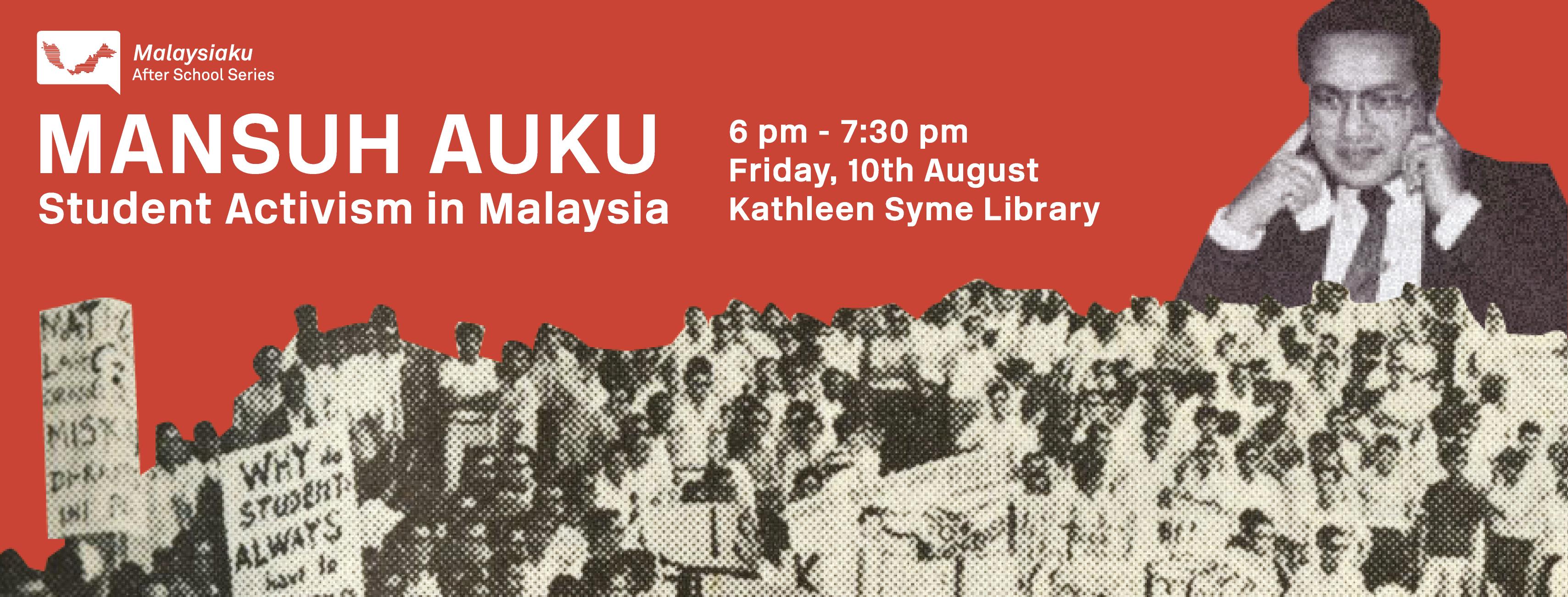 Malaysiaku: Mansuh AUKU!